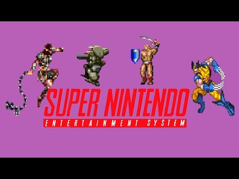 Top 40 best SNES Action platform games