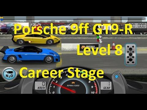Drag Racing Porsche 9ff GT9-R Career Stage 8