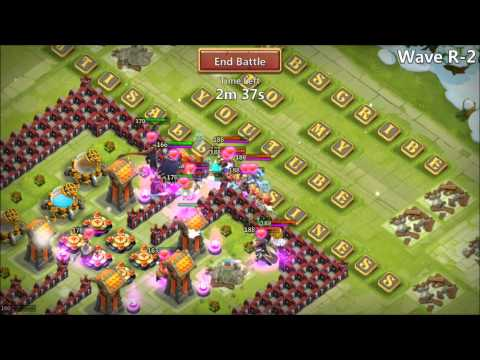 Jtisallbusiness Castle Clash HBM R Amazing Win Sick Video IOS Must See