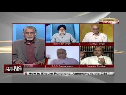 The Big Picture - How to ensure functional autonomy to the CBI?