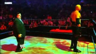 The Undertaker confronts Kane - Smackdown 10/15/10