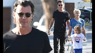 Gavin Rossdale enjoys rare day out with all three sons