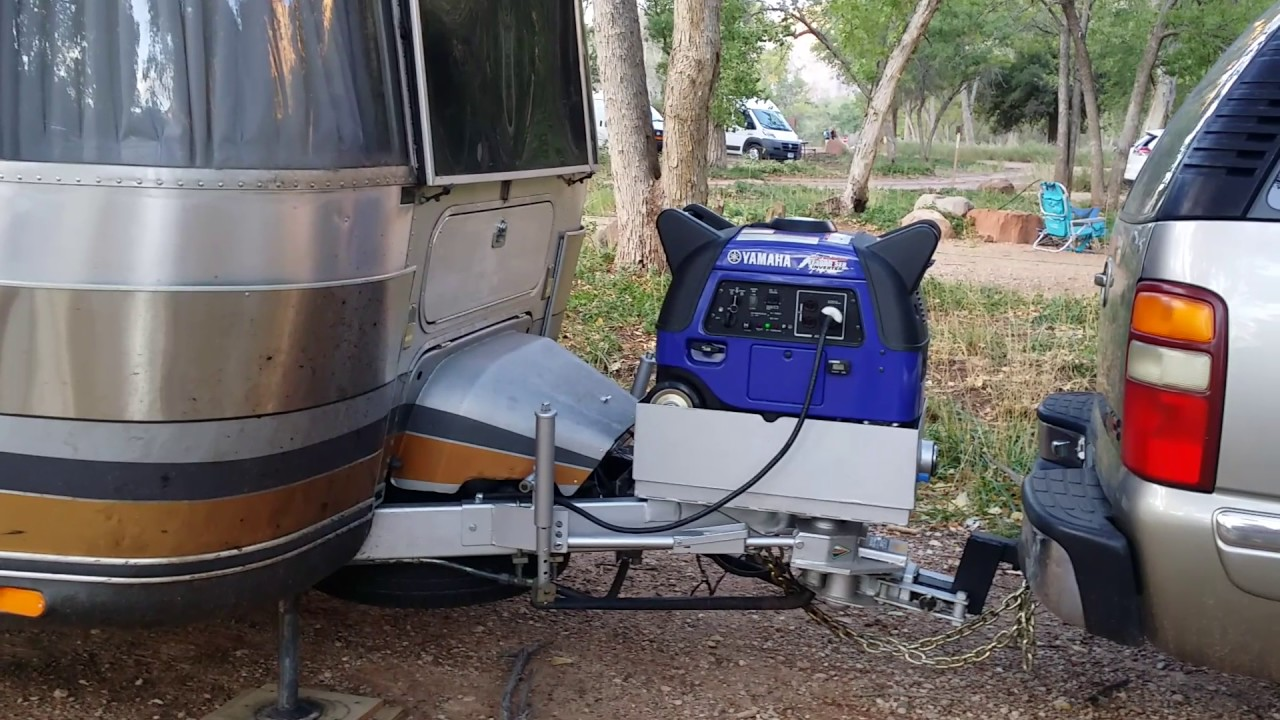 Yamaha Ef3000iseb Generator Installed On 34 Airstream
