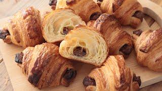 チョコクロワッサンの作り方&ラッピング Valentine Chocolate Croissant|HidaMari Cooking