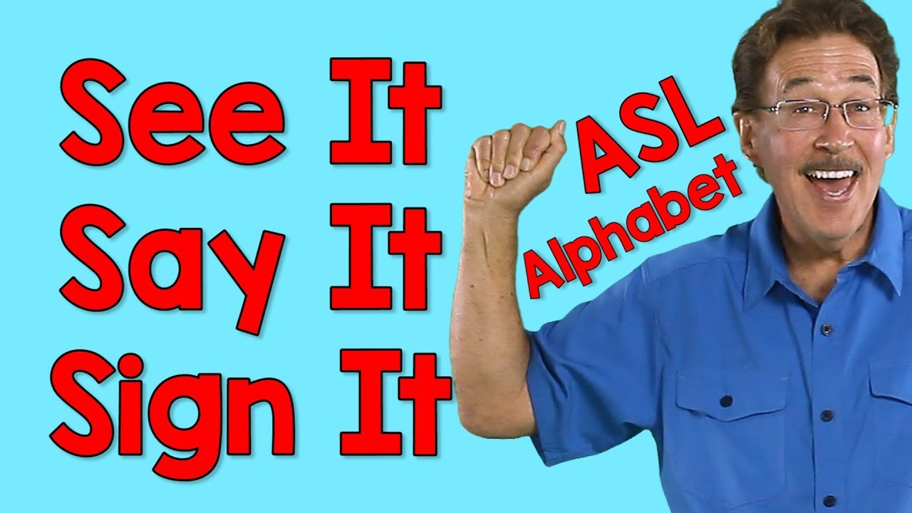 See It Say It Sign It | American Sign Language Alphabet ...
