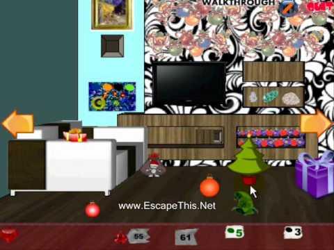 Christmas Room Escape Walkthrough Youtube