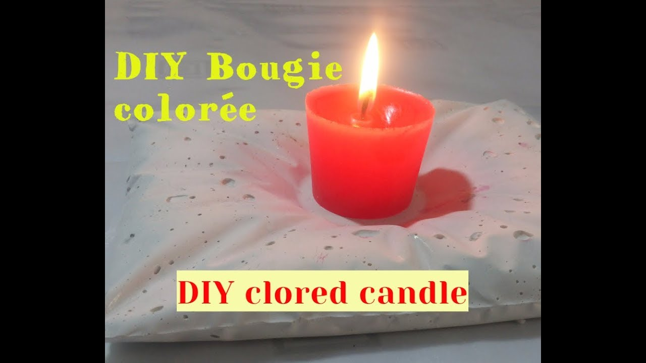 tuto comment faire une bougie color e diy colored candle youtube. Black Bedroom Furniture Sets. Home Design Ideas