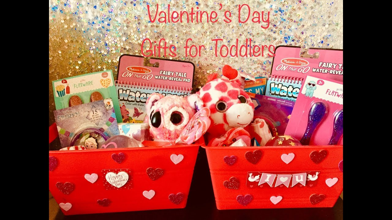 Valentines Day Gifts For Toddlers Preschool Class Youtube