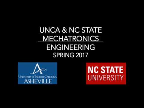 UNCA and NC State Joint Mechatronics Spring 2017 Semester Review