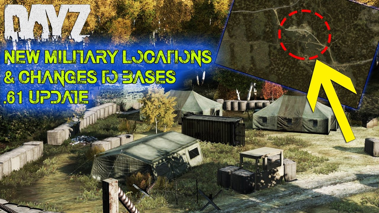 Military Dayz Base Standalone Locations