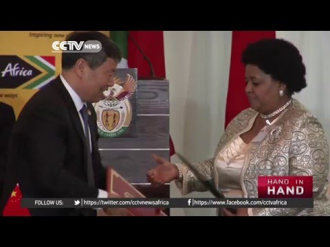 South Africa and China sign deals worth over $6bln