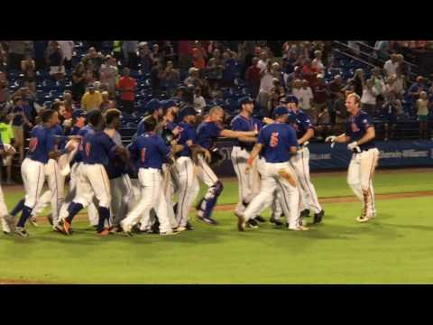 Tim Tebow Hits Game-Winning Walk-Off RBI Home Run