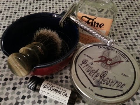 Douglas Cutlery Private Reserve shave soap, Pass-Around