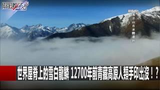 世界屋脊上的雪白龍鱗 12700年前青藏高原人類手印出沒!? 黃創夏 馬西屏  20170112-4 關鍵時刻