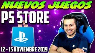 Nuevos Juegos en Playstation Store 11 - 15 Noviembre 2019