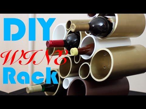 DIY PVC Wine Rack- DIY Test #10