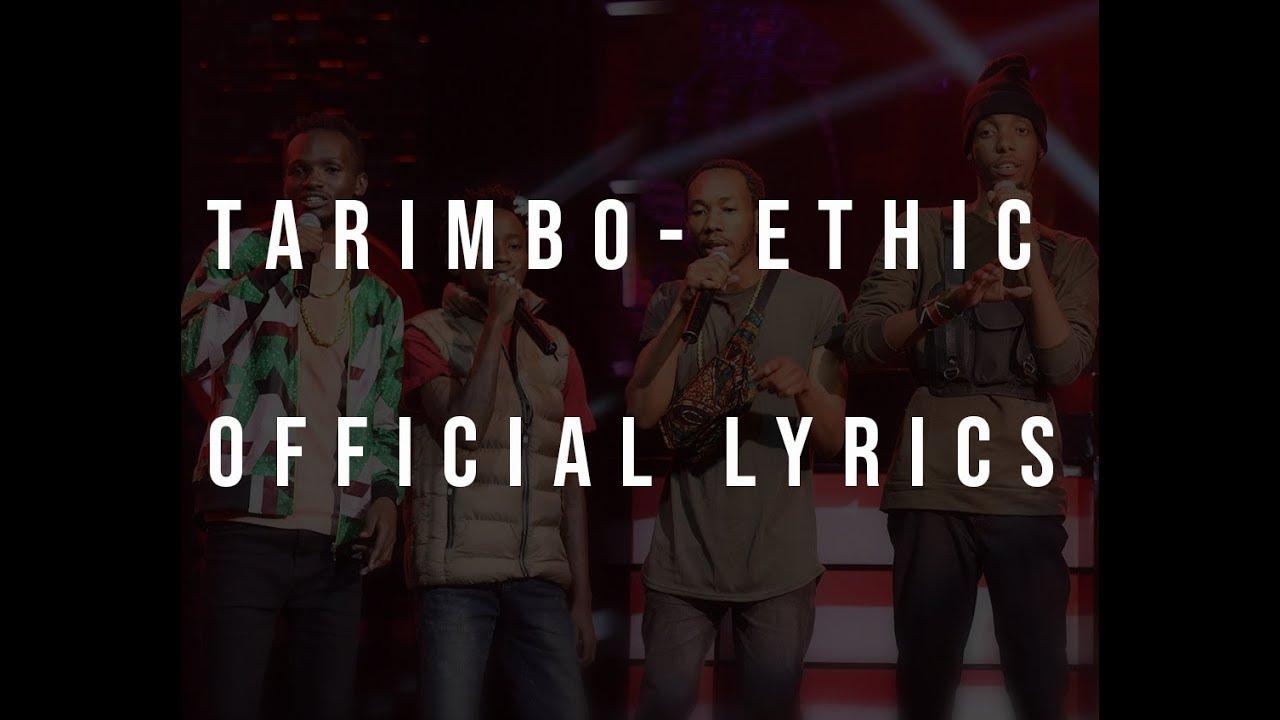 Download Ethic Entertainment - Tarimbo Offical Lyrics