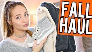 HUGE Fall Try On Haul 2016 | Kenzie Elizabeth