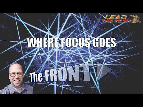 ⚡ Where Focus Goes ⚡ | The FRONT #66 | Michael Phillips / Motivation / Law Of Attraction / Podcast