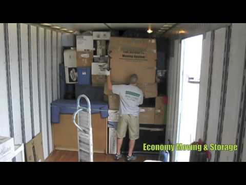 How to properly pack and load a moving truck- Movers Cincinnati
