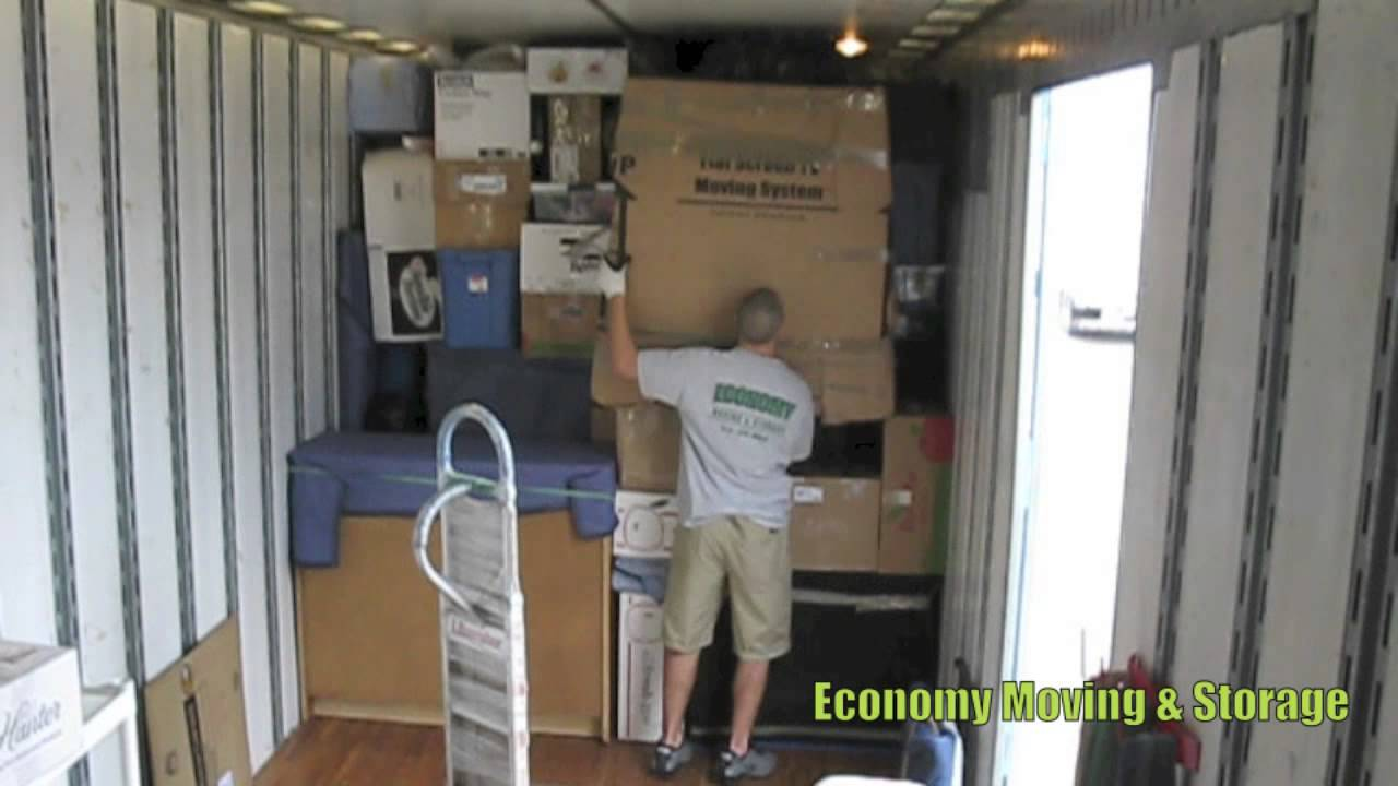How to properly pack and load a moving truck Movers