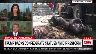 Vandals attack a number of confederate statues across America