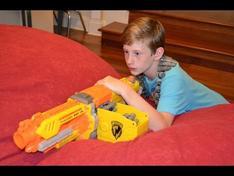 Nerf War: The Kidnapping (Part 1)