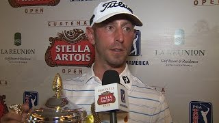 Danny Balin interview after winning the Guatemala Stella Artois Open (English)