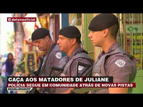 Polícia continua caça aos assassinos da PM Juliane