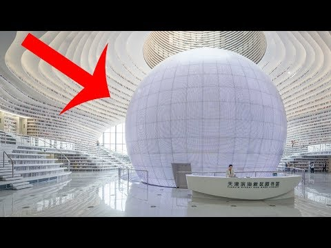 China's Newest Library Looks Like It's From Another Planet