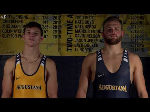 Singlet Reveal. Check Out Augustana Wrestling's New Gear