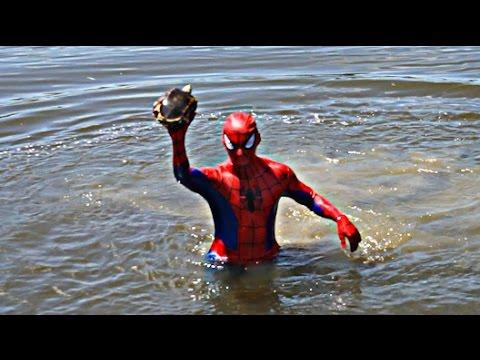 Spiderman The Turtle Whisperer Ft. The Fish Whisperer