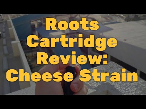 Roots Cartridge Review: Cheese Strain, One of The Best THC Vape Carts
