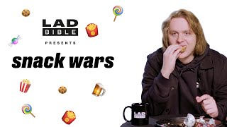Brits Nominee Lewis Capaldi Plays Snack Wars - Scotland v England