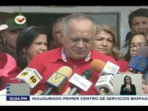 Diosdado Cabello declara tras votar en elecciones de concejales este 9 diciembre 2018