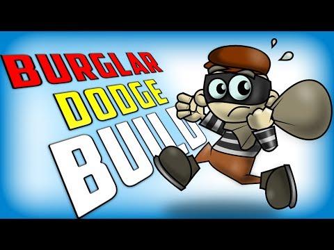 Crazy 1D BURGLAR dodge build! (Payday 2)