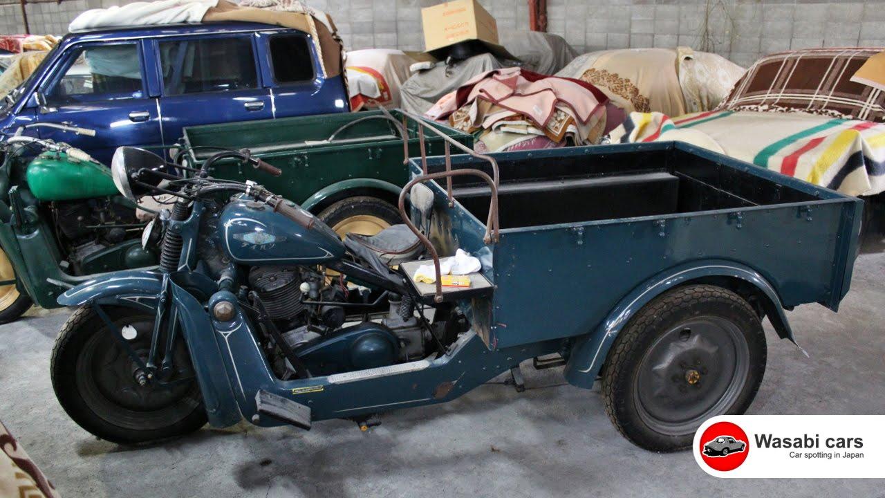 An Old Daihatsu 3 Wheeler From The Sepia Collection Youtube