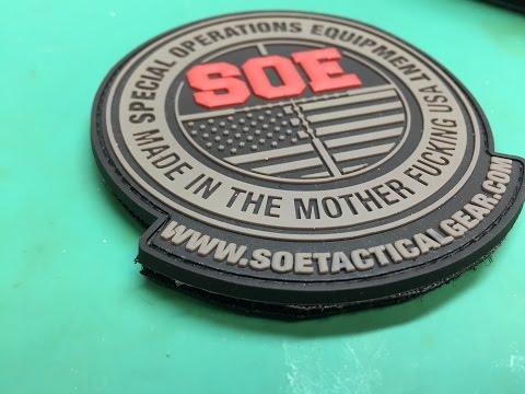 Original Special Operations Equipment (SOE), EDC Belt Review