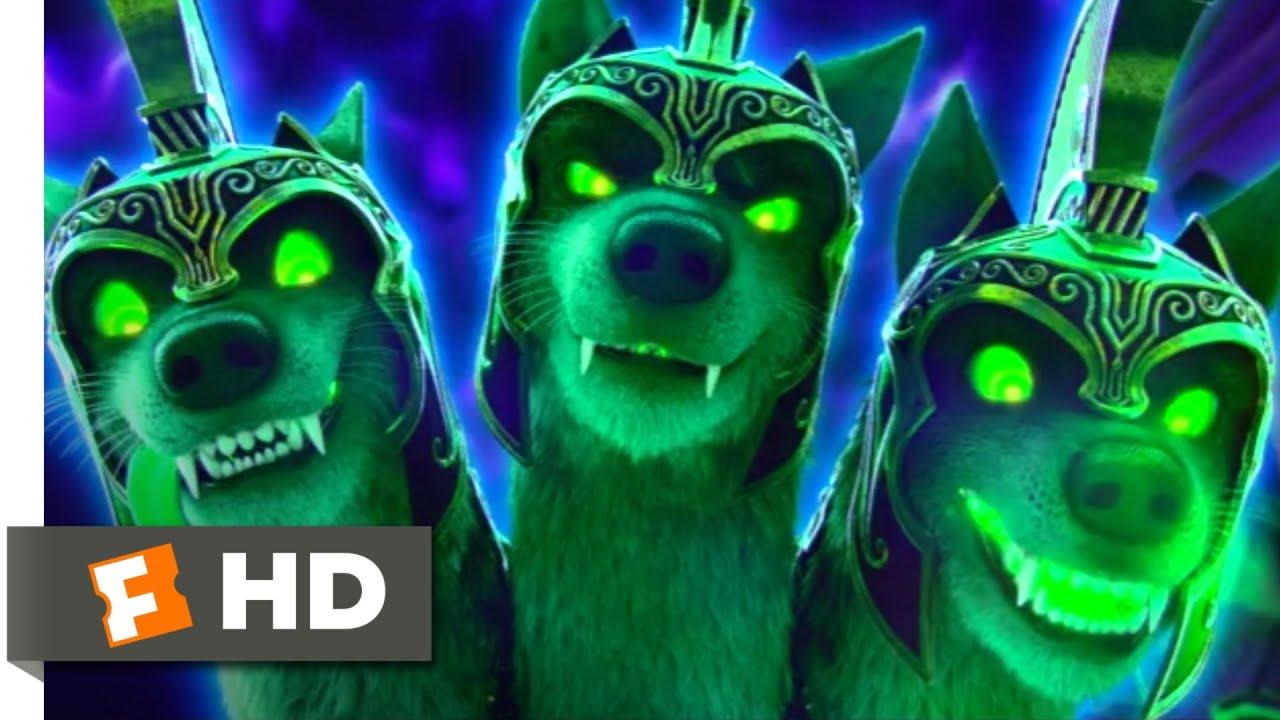 Scoob! (2020) - Fighting Cerberus Scene (8/10) | Movieclips