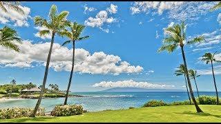 Kaanapali beach on Maui Near Lahaina