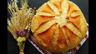 Пшеничный хлеб из семолины на закваске Левито Мадре Тесто с манкой из твердых сортов пшеницы