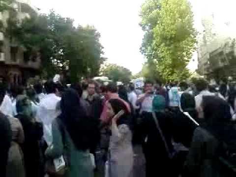 Iranian Election Valiasr Street Mousavi's fan 1