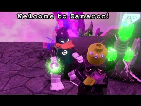 LEGO Batman 3: Beyond Gotham - Zamaron Free Roam Gameplay (Lantern ...