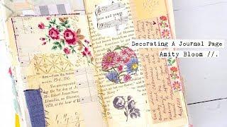 Decorating My Journal | Journaling Process | Simple Treasures