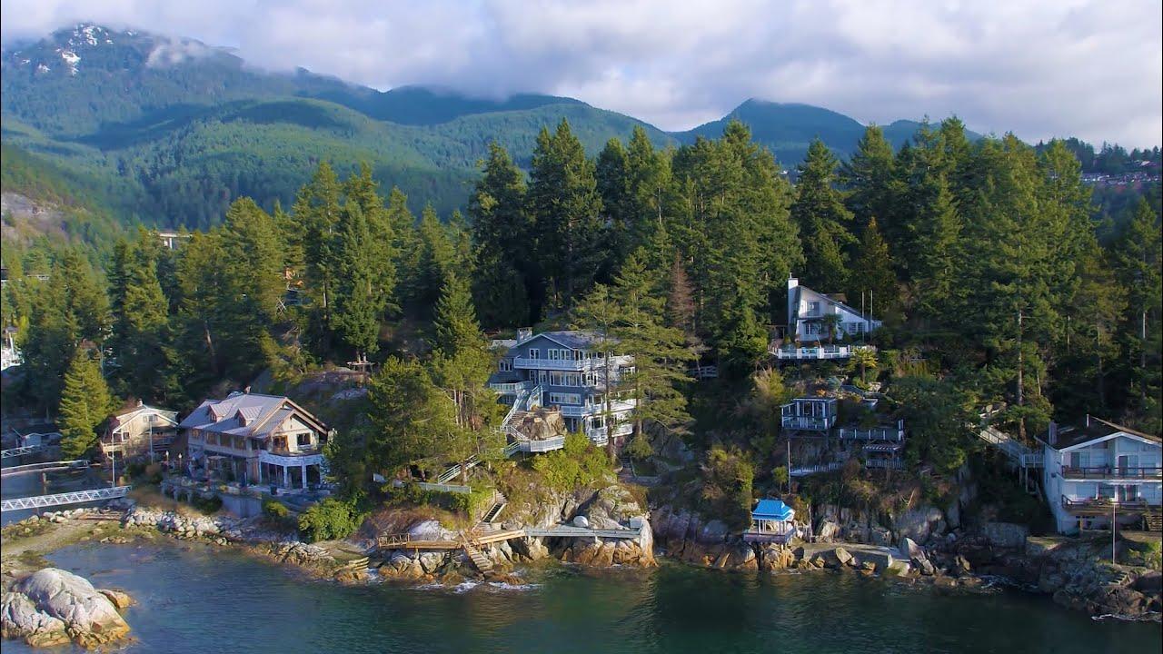 Enchanting Residence Nestled on Eagle Island | Spectacular Coastline Views  - YouTube