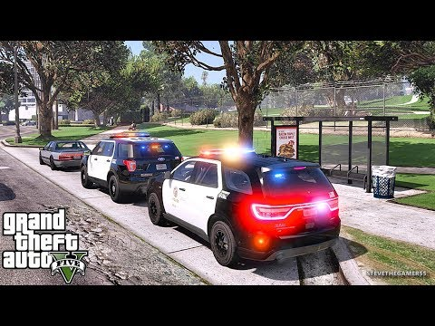 GTA 5 MODS LSPDFR 876 - CITY DURANGO PATROL!!! (GTA 5 REAL LIFE PC MOD) 4K 60FPS