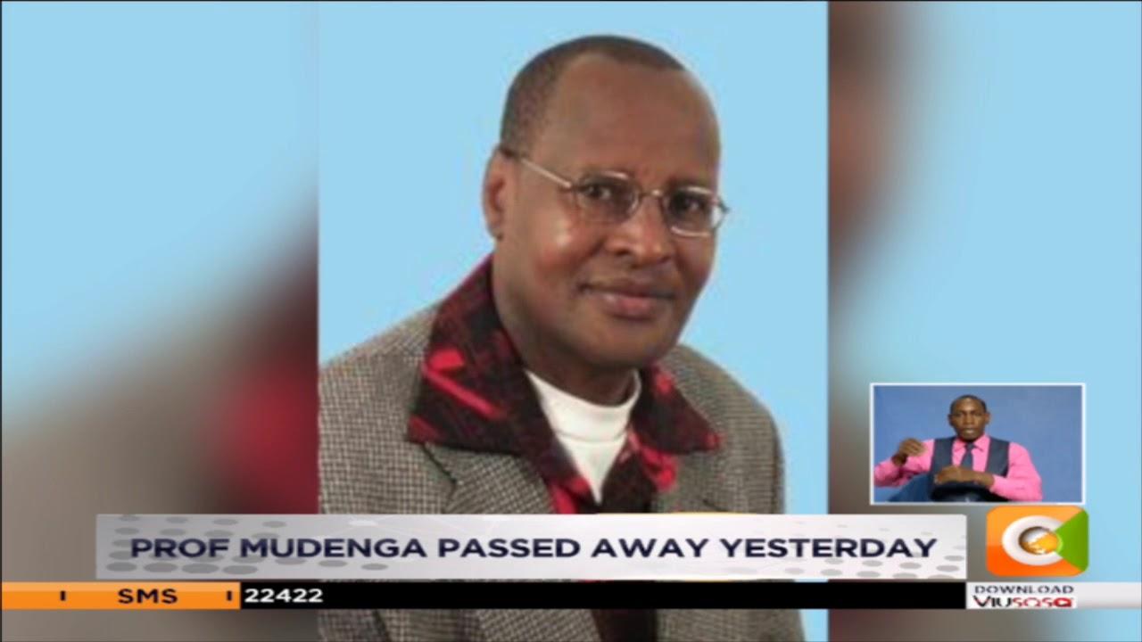 mourning prof  Abel Mugenda