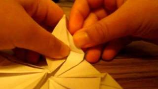origami UFO spinner part 2