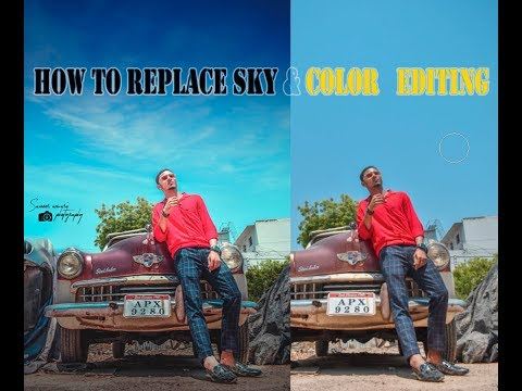 Photoshop CC Tutorial | How To Replace SKY & Color Editing thumbnail