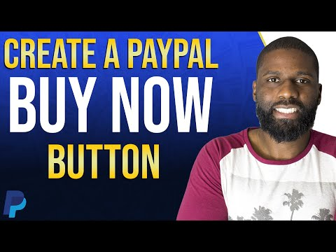 How To Make A Paypal Buy Now Button 2020 | Add Paypal To Your Website
